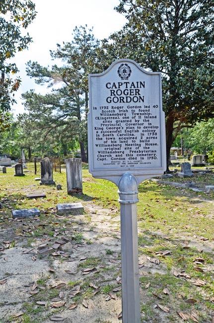 Captain Gordon Historical Marker