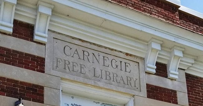 Carnegie Free Library Sign