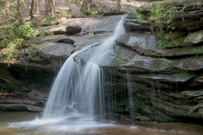 Carrick Creek Falls Pickens County Sc Photos Map