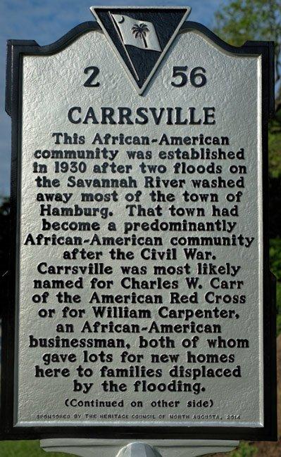 Carrsville Marker