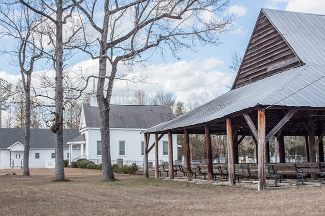 Cattle Creek Campground Tabernacle and Church