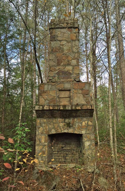 CCC Recreation Hall Chimney