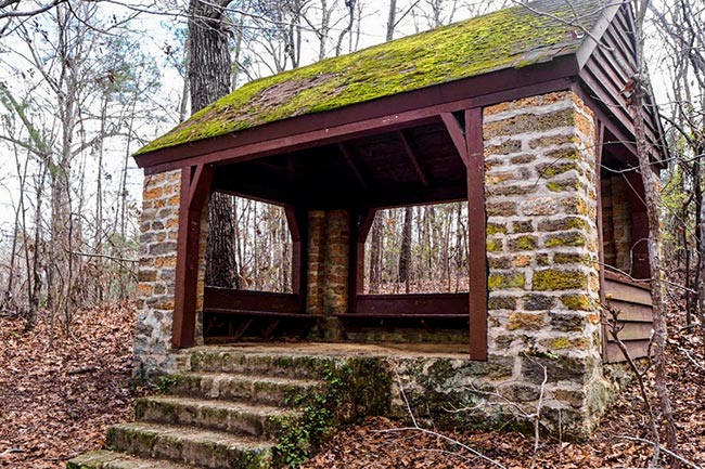 CCC Trail Shelter