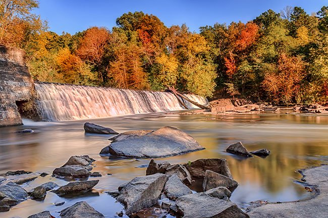 Cedar Falls in Autumn