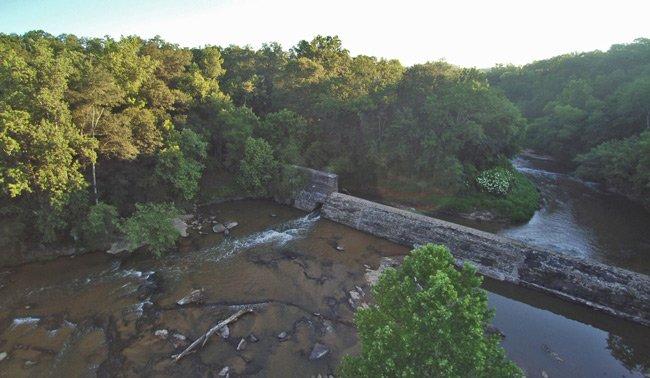 Cedar Falls Park Aerial