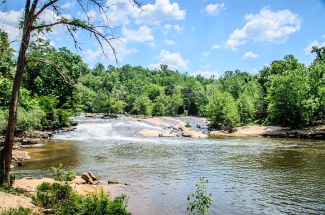 Cedar Falls Reedy River