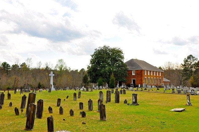 Cedar Springs Church in Abbeville