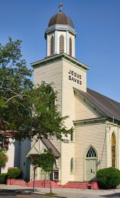 Calvary Ame Church in North Charleston SC
