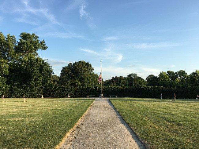 Charleston 9 Memorial park