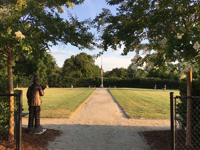 Charleston Nine Memorial Park