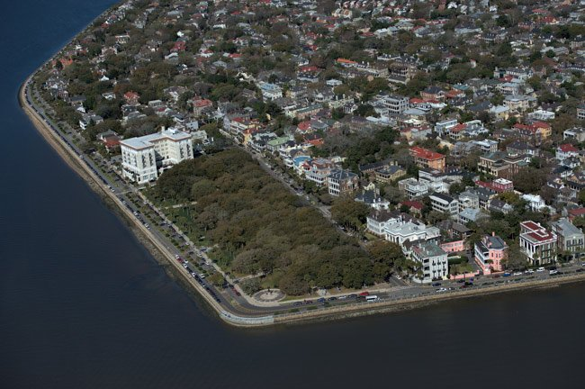 Charleston Battery Aerial