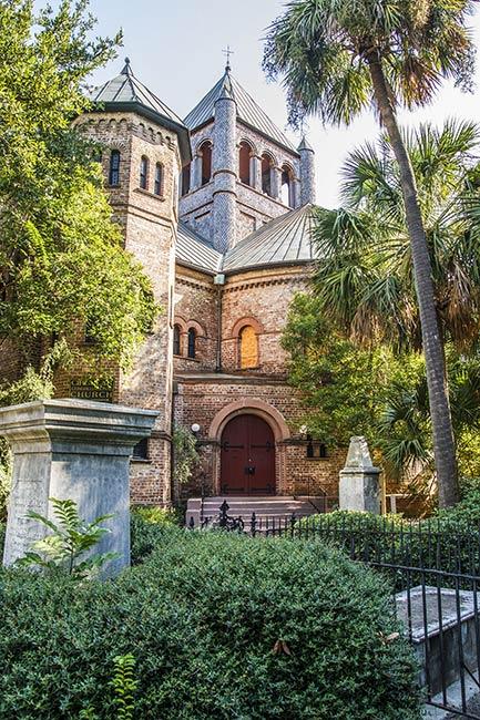 Circular Congregational Church Entrance
