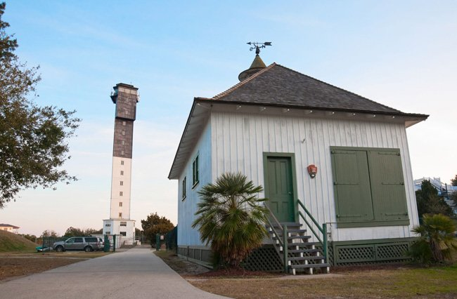 Charleston Lighthouse on Sullivan's Island