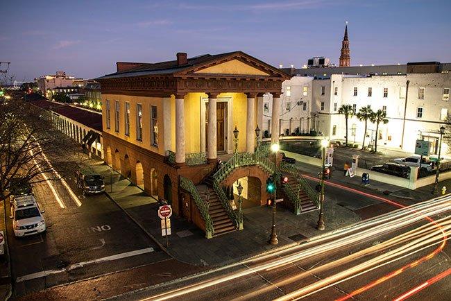 Charleston Market Hall Aerial