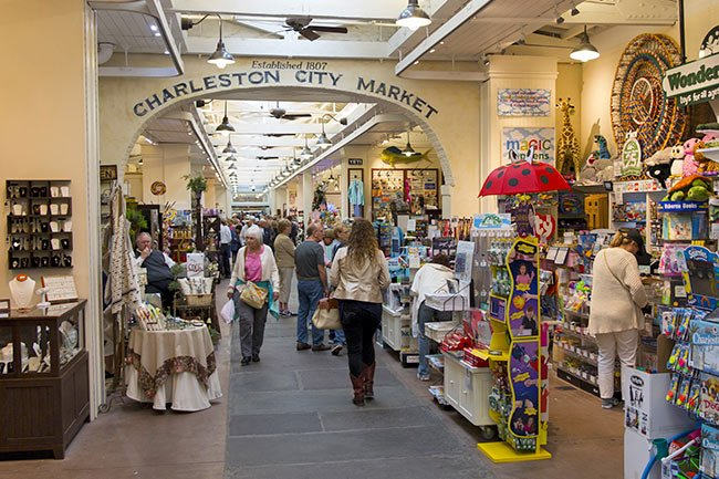 Charleston Market Interior