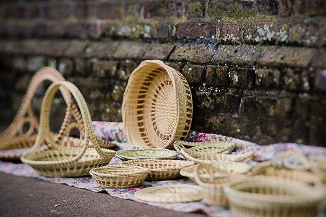 Sweetgrass Baskets Charleston