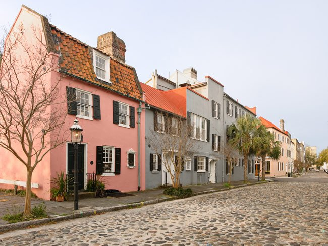 Charleston Pink House