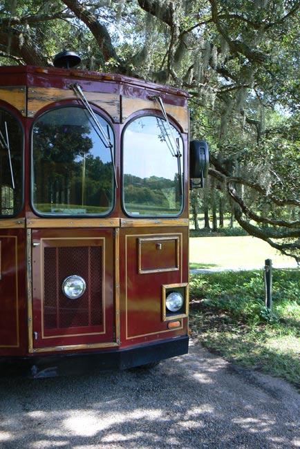 Charleston Tea Farm Trolley