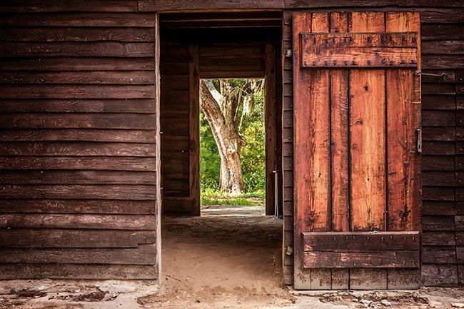 Charlestowne Landing Common House Door