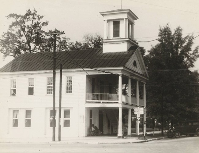 Cheraw Market Hall Historic Photo