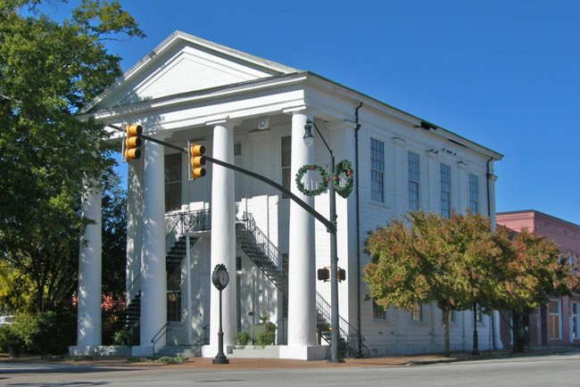 Cheraw Town Hall Building