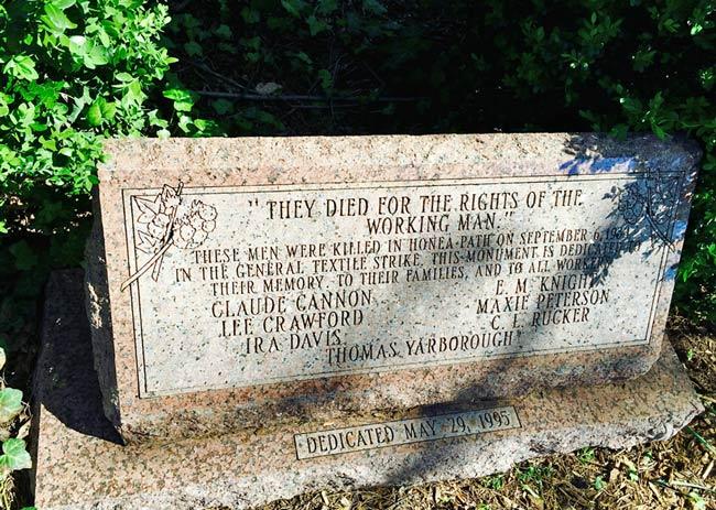Chiquola Memorial