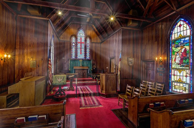 Church of the Ridge Interior