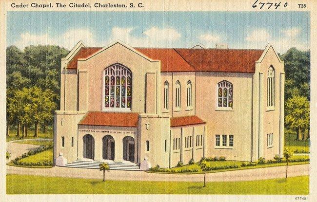 Citadel Chapel Postcard