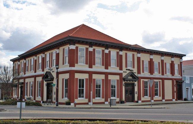 City Hall Building Barnwell