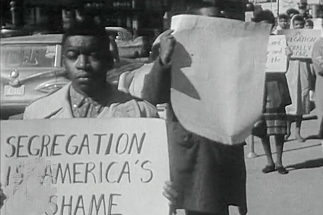 Segregation is America's Shame Protest in Rock Hill