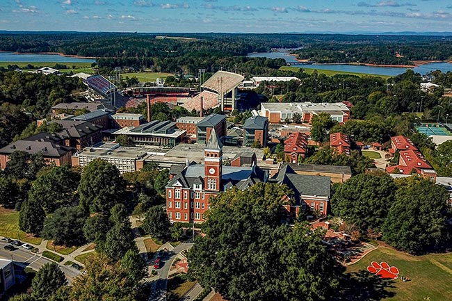 Clemson University Clemson South Carolina Sc