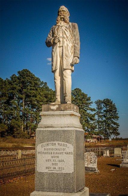 Clinton Ward Statue