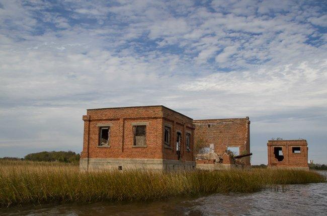 Coal Tipple Brick Buildings