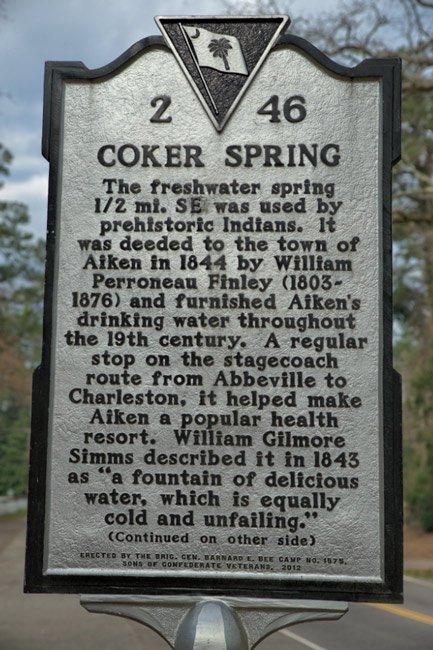 Coker Spring Marker