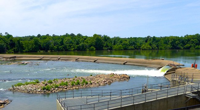 Columbia Canal Dam