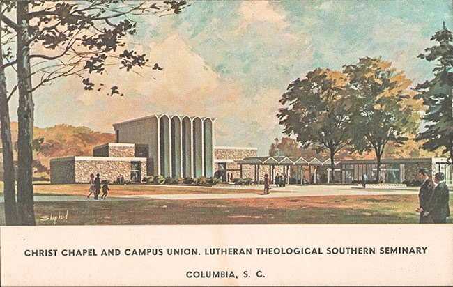 Lutheran Theological Southern Seminary - Columbia, South ... on boyce college campus map, sbvc campus map, intel campus map, swbts campus map, sbcc campus map, church campus map,
