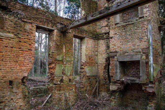 Comingtee Ruins Interior