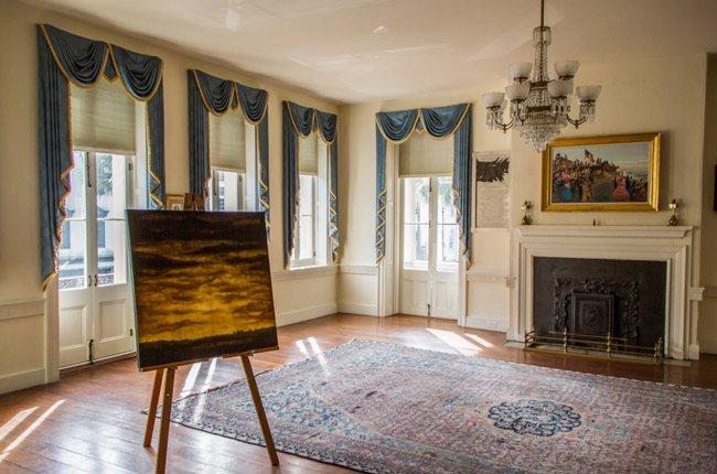 Confederate Home Interior