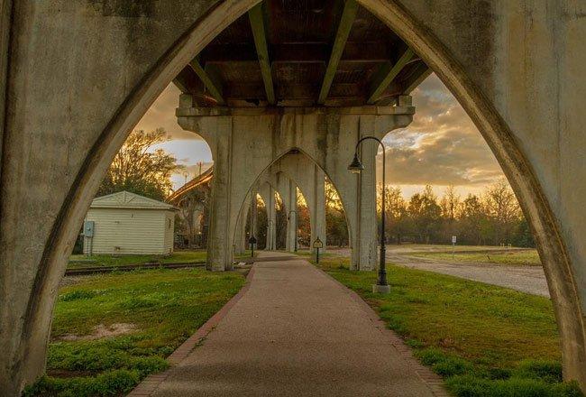 Conway Riverwalk Arches