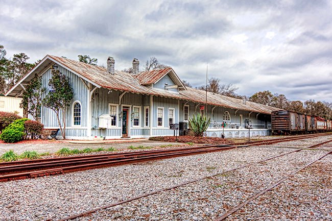 Conway Train Depot