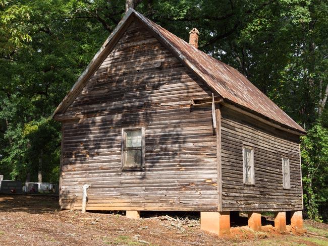 Cool Springs Primitive Baptist Rear