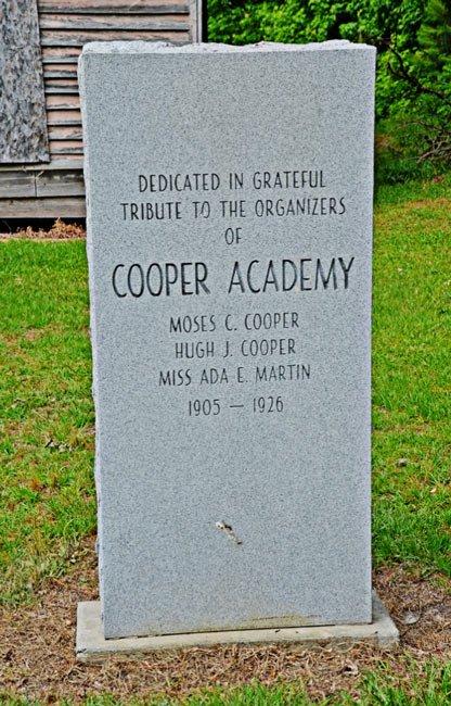 Coopers Academy Marker