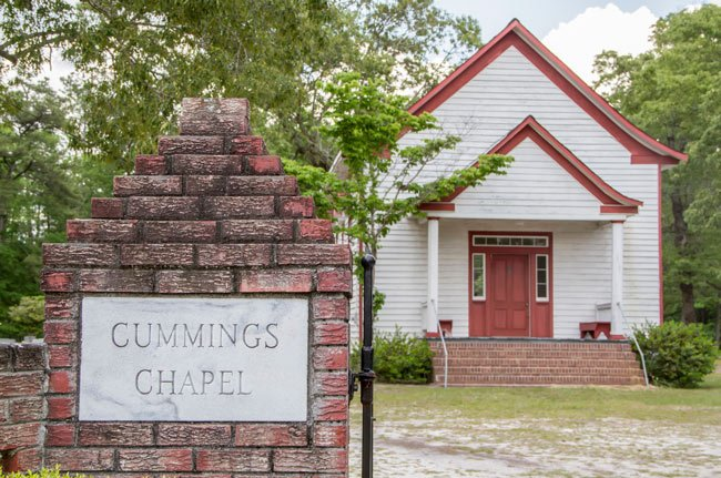 Cummings Chapel Front