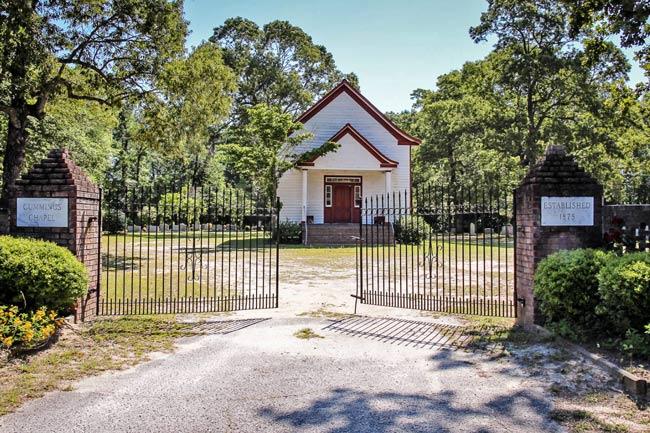 Cummings Chapel Gates