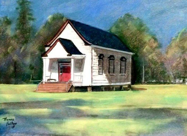 Cummings Chapel Ridgeville Painting
