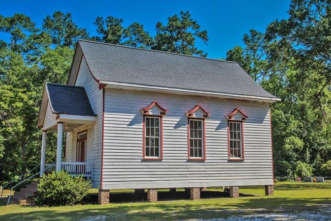 Cummings Chapel Side View