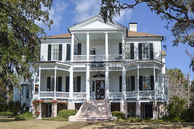 Cuthbert House, Beaufort, Front View