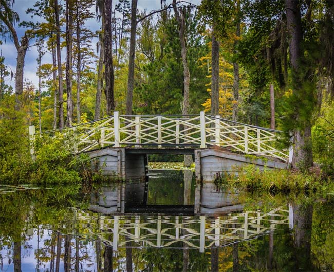 Cypress Gardens Bridge