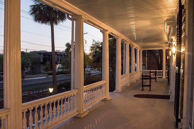 Daniel Cannon House Porch