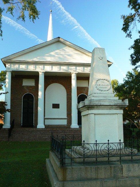 DeKalb Tomb at Bethesda Presbyterian